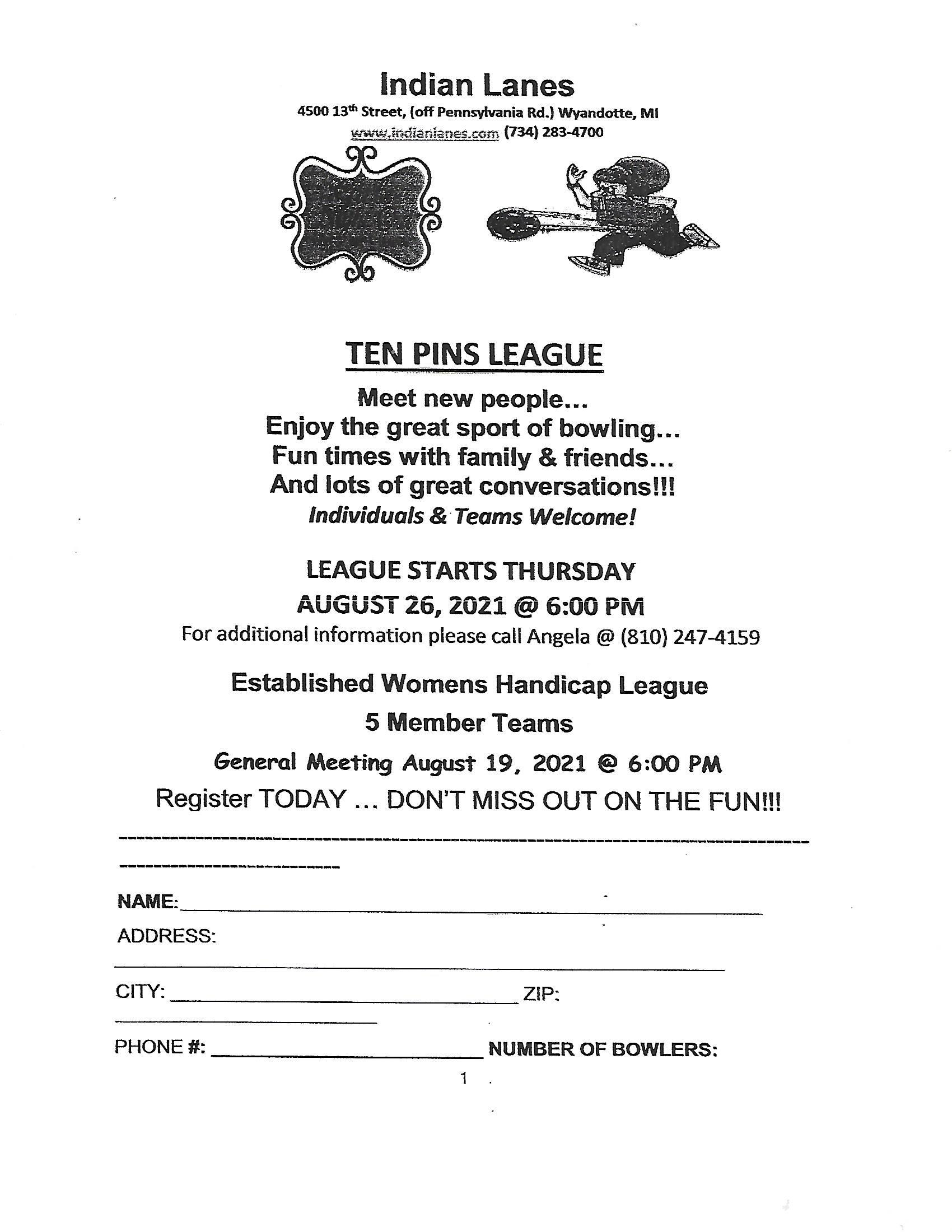 Ten-Pins-Thursday-League